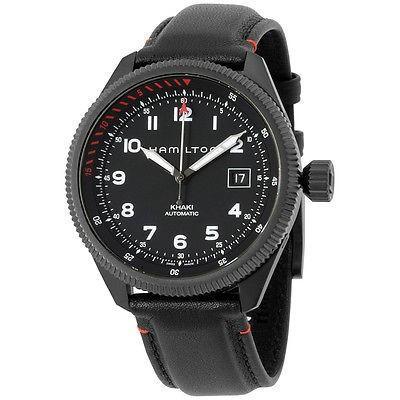 魅力の Hamilton Zermatt ハミルトン カーキ Takeoff Air Zermatt オートマチック ブラック Hamilton ダイヤル オートマチック メンズ 腕時計 H76695733, JOY-SHOP:09effbc5 --- airmodconsu.dominiotemporario.com
