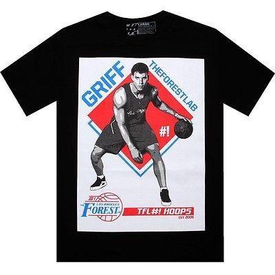 アスレチック ウェア ザフォレストラボ The Forest Lab Griff Tシャツ Blake Griffin LA Clippers BLAKETEEBLK