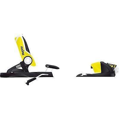 【在庫あり】 ビンディング Rossignol Axial 3 120 Dual WTR スキー ビンディング (ブラック/イエロー, 120ミリ) メンズ ユニセックス Al, しずおかけん 895362d4