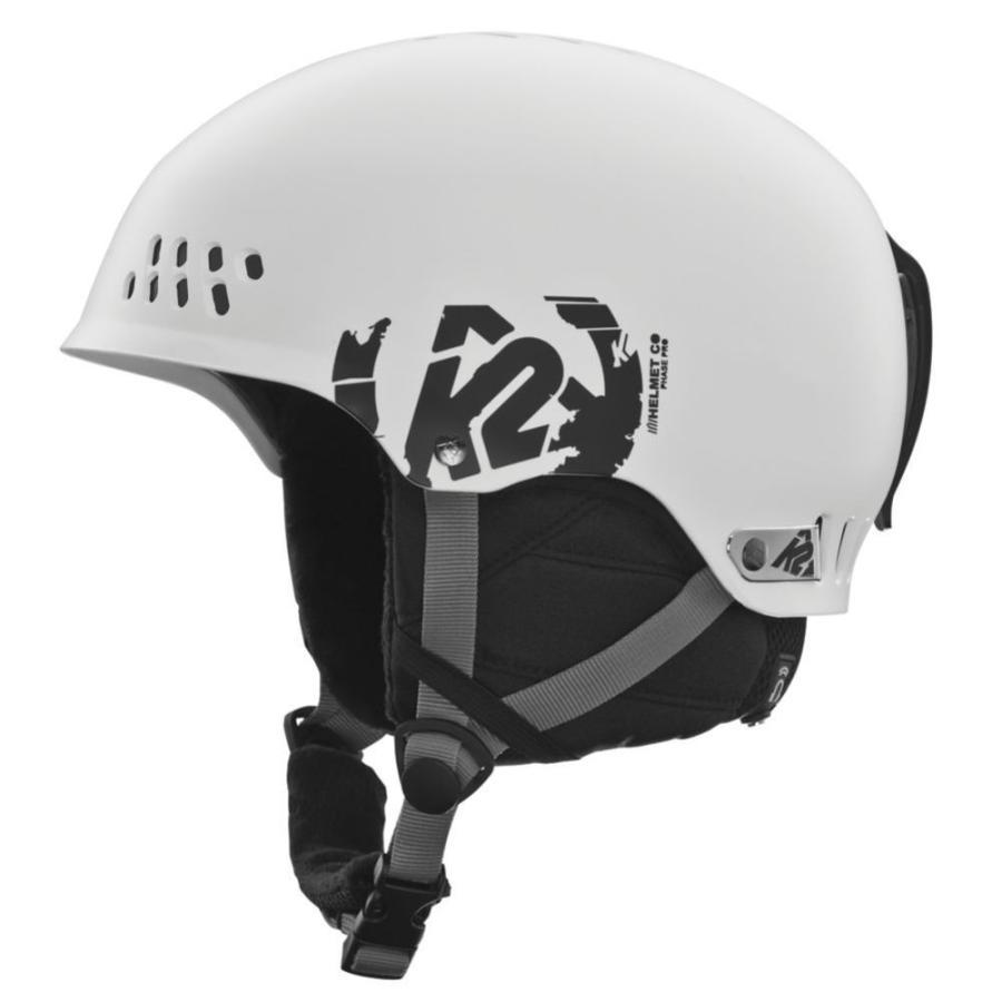 プロテクター K2 Phase Pro Helmet メンズ ユニセックス Protection Safety スキー スノーボードWhite