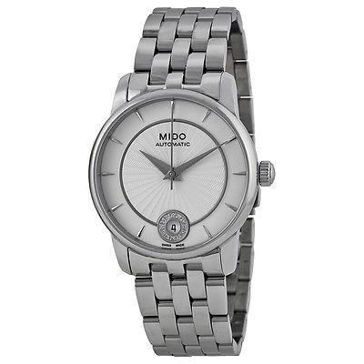 バーゲンで ミドー 腕時計 シルバー レディース Mido Baroncelli シルバー 腕時計 ダイヤル レディース 腕時計 M0072071103600, キタカタチョウ:e0e7bb52 --- airmodconsu.dominiotemporario.com