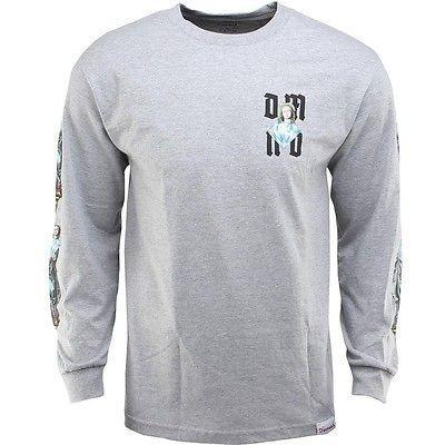 アスレチック ウェア ダイアモンドサプライ ダイヤモンド Supply Co Mother 長袖 Tシャツ (グレー / heather グレー) C14DPC20HTHR