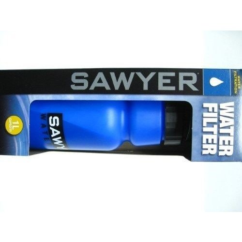 ソーヤー ポータブル ウォータフィルター キャンプ アウトドア SAWYER ポータブル 1 Liter Personal WATER BOTTLE Filter w/ Straws SP140