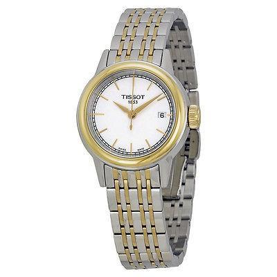 上品なスタイル ティソット 腕時計 Tissot Carson ホワイト ダイヤル ツートン レディース 腕時計 T0852102201100, Good thing -グッドシング- 8b35d7f4