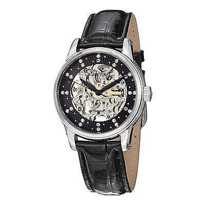 人気 ストゥーリングオリジナル腕時計Stuhrling Original レディース 576.11151 576.11151 Vogue Audrey Stella Vogue オートマチック 腕時計 レザー 腕時計, 納得できる割引:adf4d59c --- airmodconsu.dominiotemporario.com