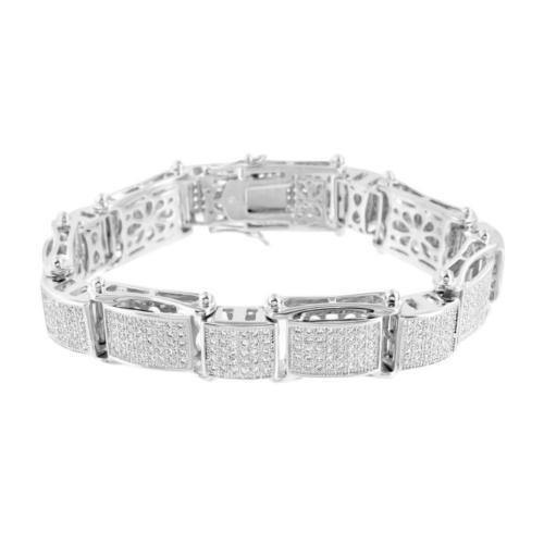 【返品交換不可】 ジュエリー 腕時計ブレスレット マスターオブブリング シルバー トーン ブレスレット Iced Out Simulated ダイヤモンドs メンズ デザイナー Hip Hop パヴェ Set, 人差し指通販 921133b2