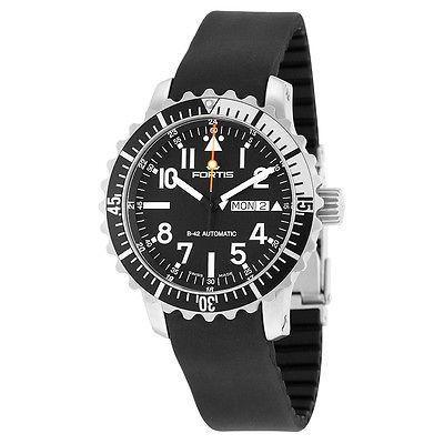 55%以上節約 フォルティス 腕時計 Fortis 腕時計 アクアtis ラバー Marinemaster オートマチック ブラック ラバー K メンズ 腕時計 670.17.41 K, ASTUTE:9542c2bb --- airmodconsu.dominiotemporario.com