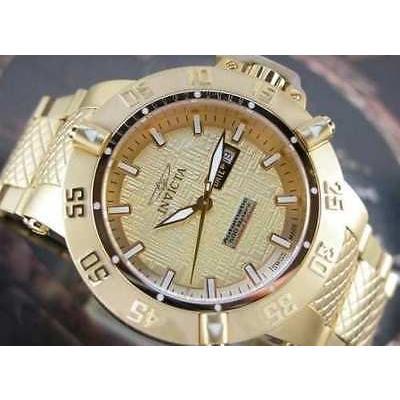 人気が高い  腕時計 インヴィクタ シャンパン メンズ 腕時計 Invicta5431 Subアクア スイス オートマチック シャンパン ダイヤル オートマチック ゴールド プレート 腕時計, 梅干菓子佃煮海産物 紀州福亀堂:97673398 --- levelprosales.com