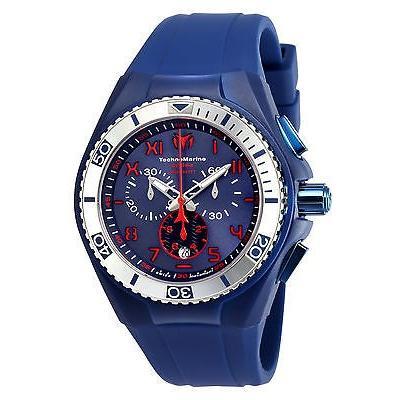 【あす楽対応】 テクノマリーン TechnoMarine 腕時計 TechnoMarine ダイヤル TM-115071 メンズ 腕時計 ステンレス スチール ステンレス ブルー ダイヤル, 三石町:4fb3d3dd --- levelprosales.com