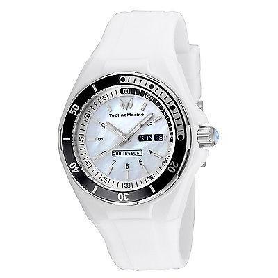 高級ブランド テクノマリーン TechnoMarine 腕時計 TechnoMarine ホワイト TM-115123 レディース 腕時計 ステンレス スチール TM-115123 ホワイト ダイヤル, しゃく:885db314 --- airmodconsu.dominiotemporario.com