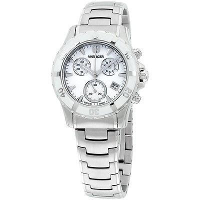 格安即決 Wenger ウェンガー ホワイト ダイヤル ステンレス スチール ブレスレット レディース 腕時計 70747, 収納家具通販 エント c73f2402