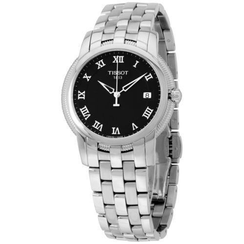 【感謝価格】 Tissot ティソット Ballade III ブラック ダイヤル ステンレス スチール メンズ 腕時計 T0314101105300, 泉崎村 1367bb49