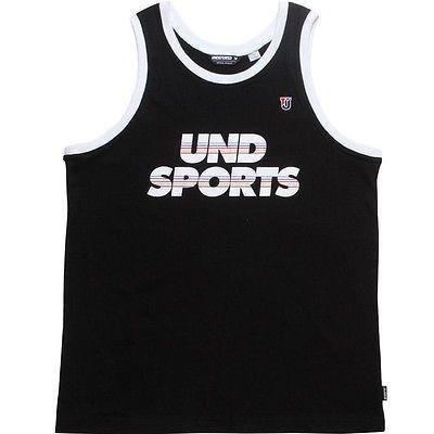 アスレチック ウェア アンディーフィーテッド Undefeated UND スポーツ タンクトップ (ブラック) 514142-BLK
