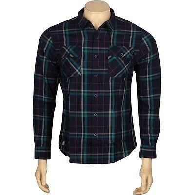 最上の品質な アスレチック ウェアハフHUF ウェアハフHUF Nichols HUFBU34005NAV Woven 長袖 Shirt (ネイビー) 長袖 HUFBU34005NAV, 度会郡:6f43bf35 --- airmodconsu.dominiotemporario.com