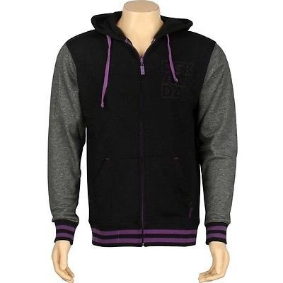 新品即決 アスレチック ウェアDGK ウェアDGK Day All Day Hooded ジャケット ジップ Fleece ジャケット (ブラック) DJT47BLK, スマホケース:6d446947 --- airmodconsu.dominiotemporario.com