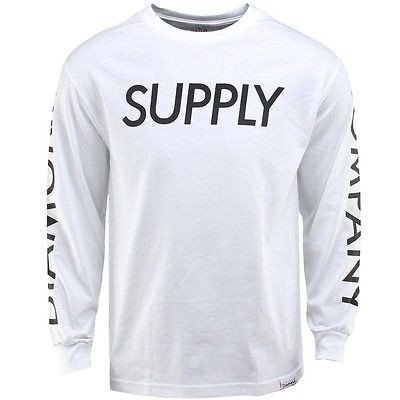 アスレチック ウェアダイアモンドサプライダイヤモンド Supply Co Supply 長袖 Tee (ホワイト) C14DPC03WHT