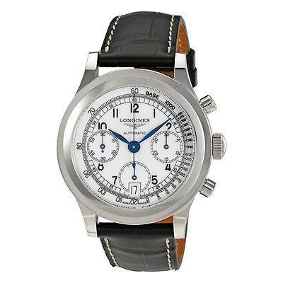 【期間限定特価】 ロンジン Heritage 腕時計 Longines メンズ Longines Heritage クロノグラフ オートマチック メンズ 腕時計 L2.768.4.13.2, Slow time life:f76a12d6 --- airmodconsu.dominiotemporario.com
