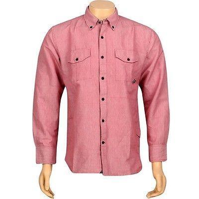 人気アイテム アスレチック ウェアJSLV 長袖 Late Night Shirt Woven 長袖 (レッド) Shirt (レッド) MWV8005レッド, オフィスチェアー専門館:bcd9c203 --- airmodconsu.dominiotemporario.com