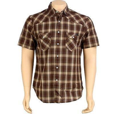本物の アスレチック ウェアハフHUF アスレチック The Shea Shirt ブラウン) Shirt (ダーク ブラウン) HUFBU11TSHDKB, みきぞうママのタオル工房:7aaeae53 --- airmodconsu.dominiotemporario.com
