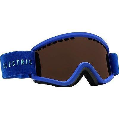 ゴーグル サングラス エレクトリック Electric EGV.K スノー ゴーグル ネイビー Cyan w ブロンズ レンズ キッズ EGVK