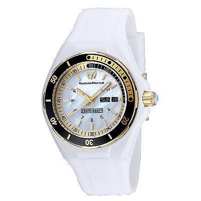 【楽天ランキング1位】 テクノマリーン 腕時計 ホワイト 腕時計 TechnoMarine TM-115119 レディース 腕時計 ステンレス 腕時計 スチール ホワイト ダイヤル, 祝開店!大放出セール開催中:92f824c4 --- airmodconsu.dominiotemporario.com