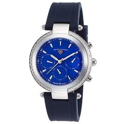 【未使用品】 スイスレジェンド 腕時計 スイス レディース レジェンド レディース 腕時計 ブルー Madison 38ミリ 腕時計 SL-16175SM-03-BLS ブルー ダイヤル, Toride 砦:8614ec10 --- airmodconsu.dominiotemporario.com