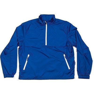 シャツ トップス セーター オックスフォードゴルフ オックスフォード ゴルフ Webster 1/2 ジップ プルオーバーブルー ミディアム- ゴルフ アウターウェア
