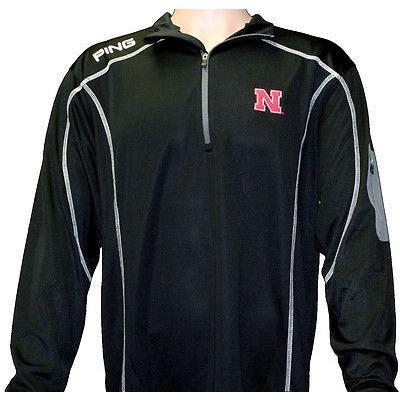 シャツ トップス セーター ピン PING Ranger Nebraska プルオーバーブラック スモール- ゴルフ アウターウェア