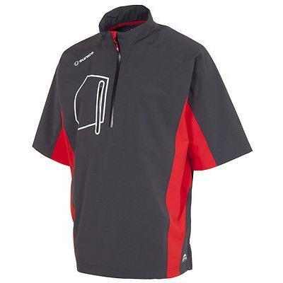 シャツ トップス セーター サンアイス Sunice Berlin 半袖 プルオーバーシルバー ミディアム- ゴルフ アウターウェア