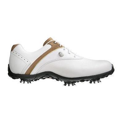 ゴルフ シューズ フットジョイ FootJoy レディース LoPro コレクション ゴルフ シューズ ホワイト/Taupe 10 NAR- Closeout 97173