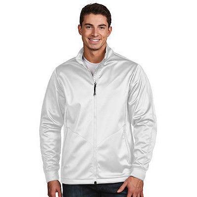 シャツ トップス セーター アンティグア Antigua ゴルフ ジャケット ホワイト ラージ- ゴルフ outerwear