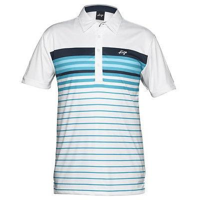 シャツ トップス セーター スライゴ Sligo Pearson Polo Iridium ブルー ミディアム -メンズ ゴルフ shirt