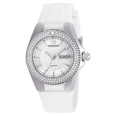 【日本限定モデル】 テクノマリーン 腕時計 TechnoMarine レディース TM-115235 レディース スチール 腕時計 腕時計 ステンレス スチール ホワイト ダイヤル, DryBones Online Shop:13784fce --- airmodconsu.dominiotemporario.com