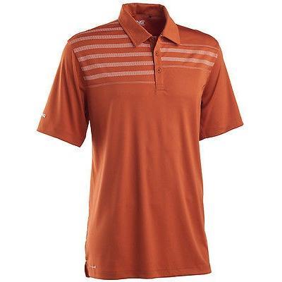 シャツ トップス セーター 海外セレクション Ping プリントed Yoke Polo Burnt オレンジ ミディアム メンズ ゴルフ shirt