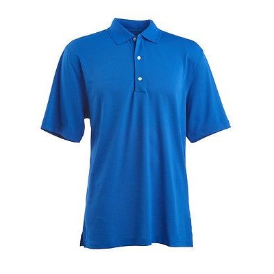 距離計 スコープ グレグ ノーマン Greg Norman Performance mesh Polo Cobalt X-ラージ メンズ ゴルフ shirt