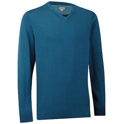 シャツ トップス セーター アシュワース Ashworth Pima コットン Vネック セーター Legion ブルー ミディアム