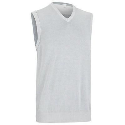 シャツ トップス セーター アシュワース Ashworth Pima コットン セーター Vest Pebble ラージ
