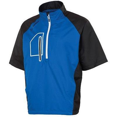シャツ トップス セーター サンナイス Sunice Webster 半袖 プルオーバーCollegiate ブルー/ブラック ミディアム