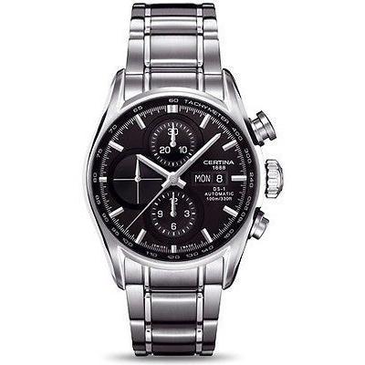 新作からSALEアイテム等お得な商品満載 サーチナ 腕時計 Certina DS DS 腕時計 1 - オートマチック クロノグラフ ステンレス スチール メンズ オートマチック 腕時計 C0064141105101, 浅川町:95c93daf --- lighthousesounds.com