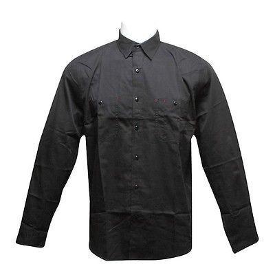 【T-ポイント5倍】 アスレチック Work ウェアハフHUF Work Shirt Shirt アスレチック (ブラック) HUFBU03WRKBLK, WORM TOKYO:b173f8fe --- airmodconsu.dominiotemporario.com