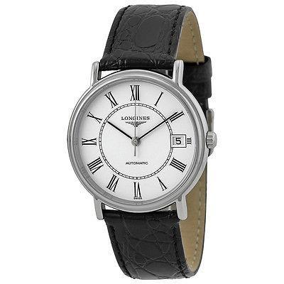 注目ブランド ロンジン 腕時計 Longines Presence オートマチック レディース 腕時計 L4.821.4.11.2, 八丈町 ed612399