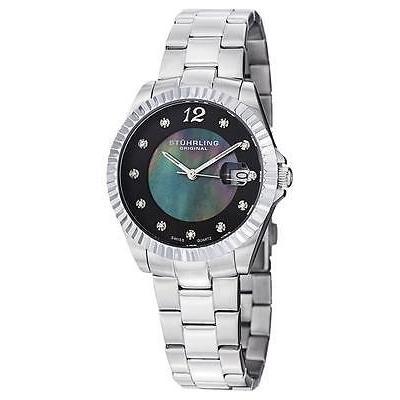 【保証書付】 ストゥーリング オリジナル 498 腕時計 111127 レディース クリッパー ストゥーリング オリジナル パール スイス クォーツ デート レディース 腕時計, 枝幸郡:cda02146 --- airmodconsu.dominiotemporario.com