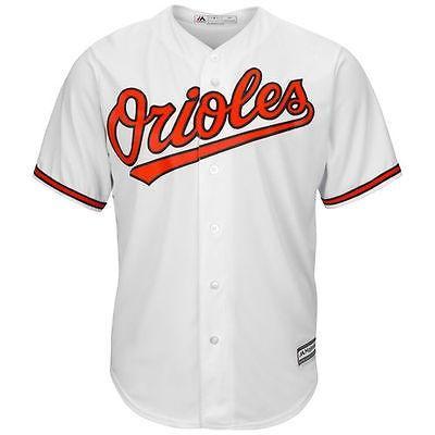 マジェスティック アメリカ USA メジャー リーグ 全米 野球 MLB Majestic Baltimore Orioles ユース ホワイト Official Cool Base ジャージ