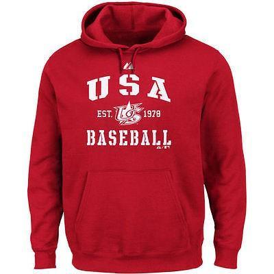 【ふるさと割】 マジェスティック アメリカ USA メジャー リーグ 全米 野球 MLB Therma USA Majestic パーカー チーム USA レッド ベースボール クラシック Therma Base パーカー, ブランド古着の買取販売ベクトル:59ec63e3 --- airmodconsu.dominiotemporario.com