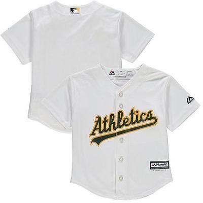 アメリカ USA メジャー リーグ 全米 野球 MLB Oakland アスレチックs Preスクール ホワイト Home Official Cool Base チーム ジャージ