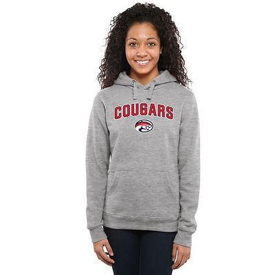 ファナティックス ブランディッド カレッジ 大学 スポーツ NCAA アメリカ USA 全米 Houston Cougars レディース Ash Proud Mascot プルオーバーパーカー