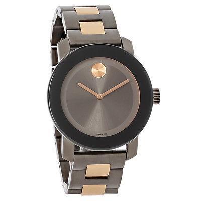 新品同様 腕時計 モバード Movado Bold レディース チャコール ダイヤル Gunmetal ブレスレット スイス クォーツ 腕時計 3600327, 株式会社セブン 05b63e51