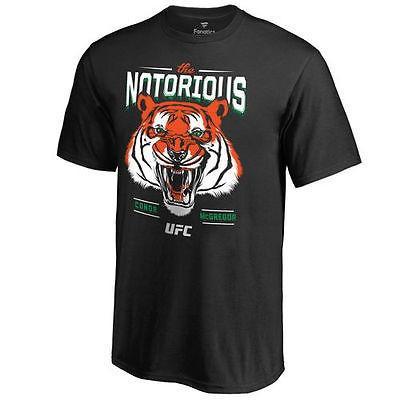ファナティックス ブランディッド 総合格闘技 MMA アメリカ USA 全米 Conor McGregor UFC ユース ブラック Celtic タイガー Tシャツ