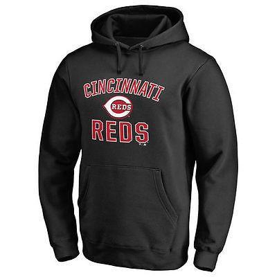 新しい季節 ファナティックス ブランディッド ベースボール MLB 野球 アメリカ アメリカ USA 全米 MLB レッズ Cincinnati レッズ ブラック Victory Arch プルオーバーパーカー, グリーンPEACE:90483ba0 --- airmodconsu.dominiotemporario.com