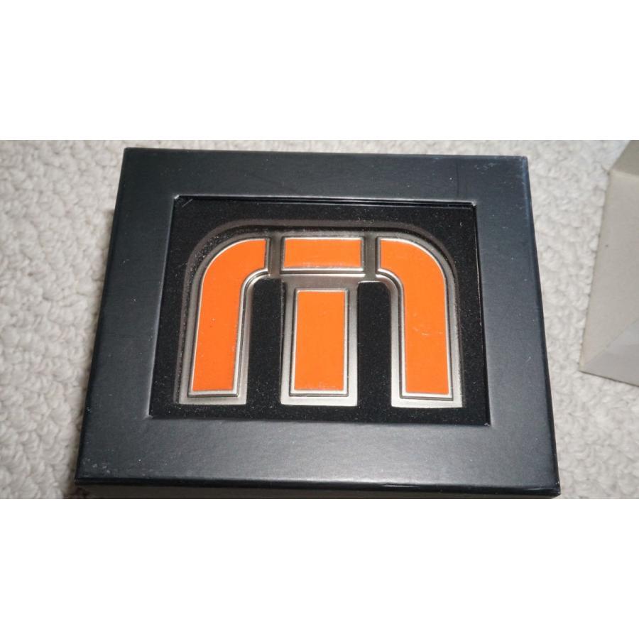 ゴルフウェア トラビスマシュー New Travis Mathew Bubba Watson Belt Buckle Black/Orange S/M Limited Edition